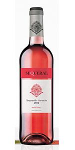 Vino rosado Sequeral 80% Tempranillo 20% Garnacha