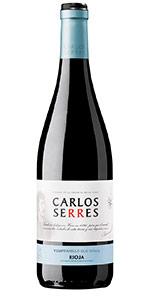 Vino tinto Rioja Carlos Serres
