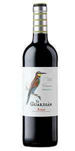 Vino tinto Rioja El Guardián. Crianza