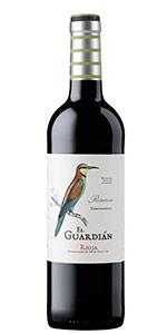 Botella vino tinto El Guardian
